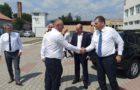 Ministrul Dezvoltării, Lucrărilor Publice și Administrației Attila-Zoltán CSEKE a vizitat astăzi obiectivele de investiții aflate în derulare pe raza comunei Peștișani